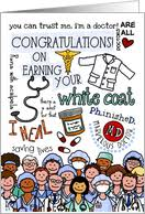 doctor who congratulations card white coat ceremony congratulations cards from greeting card universe