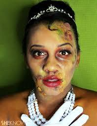 zombie disney princess makeup tutorials skin crawl