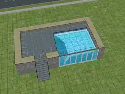 2 house with pool the sims2 a pool with windows sims 3