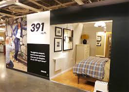 How Big Is 1100 Square Feet Photos See Inside Ikea Brooklyn U0027s Tiny 391 Sq Ft Model
