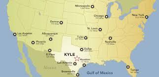 kyle map maps kyle economic development