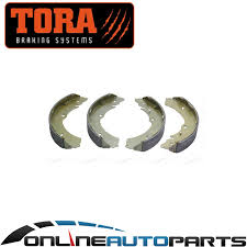 rear drum brake shoe set holden rodeo ra 2003 2008 4x4 suits