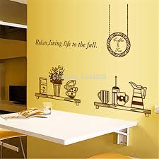 100 dining room wall decals decorations pop art comic wall