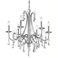 Kichler Lighting Chandelier by Kichler Lighting 42545 Leanora Collection Chandelier Crystal