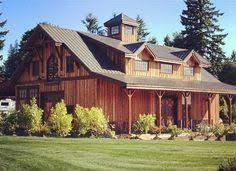 Pole Barns Oregon The Denali Barn Apartment 72 Ideas For The Cabin Pinterest