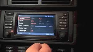 bmw 5 series navigation system bmw 5 series e39 16 9 screen mk4 software update