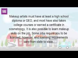 need a makeup artist what qualifications do you need to be a professional makeup artist