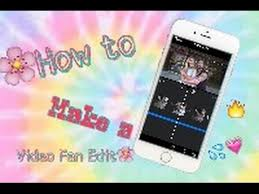 how to make fan video edits instagram fan edit tutorial youtube