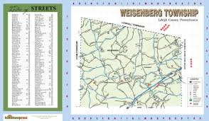 Pennsylvania Township Map by Weisenberg Township Newsletters Maps