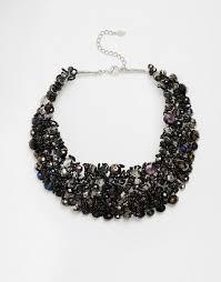 black bead collar necklace images Aldo aldo roccoa statement collar necklace