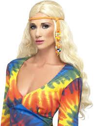 hippie headband 60s beaded hippie headband 60s 70s accessories mega fancy dress