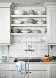Open Metal Shelving Kitchen by Best 25 Shelves Over Kitchen Sink Ideas On Pinterest Room Place