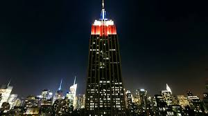 empire state building lights tonight the empire state building will track election results in bright