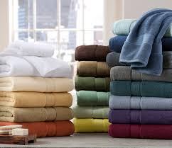 Powder Room Towels These Towels From The Kenneth Cole Reaction Home Collection Are