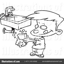free clipart cartoons on hand hygiene