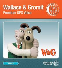 amazon com wallace u0026 gromit gps voice for garmin pc only