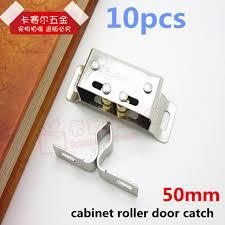 stainless steel cabinet door latches 10pcs cabinet roller cupboard door latch magnetic door catch holder