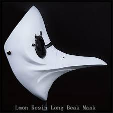 white plague doctor mask aliexpress buy dr beulenpest steunk plague doctor beak