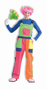 amazon com clown overalls costume one unisex fits up
