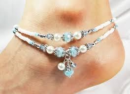 diy crystal bead bracelet images 273 best beaded anklets images anklets beaded jpg