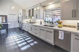 custom kitchen cabinets mississauga transitional kitchen design in grey black kitchen land