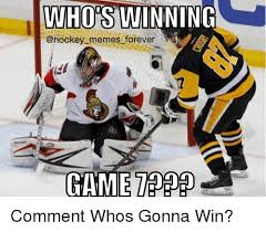 Hockey Memes - whos winning memes forever game comment whos gonna win hockey