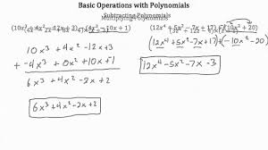 Multiply Polynomials Worksheet Operations With Polynomials Worksheet Worksheets Reviewrevitol