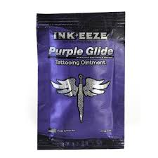 ink eeze purple glide tattoo ointment 5ml packet inkeeze