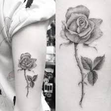 jamie king rose upper arm tattoo steal her style