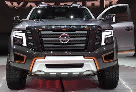 nissan titan detroit auto show 2017 nissan titan warrior concept photos the biggest best and