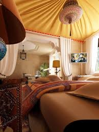 Moroccan Room Divider Bedroom Attractive Picture Of Moroccan Themed Bedroom Design And