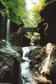 New York waterfalls images Watkins glen state park jpg