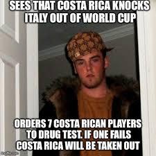 Costa Rica Meme - scumbag fifa part 2 imgflip