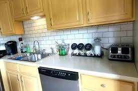 removable kitchen backsplash backsplash trim subway tile trim removable kitchen ideas how to