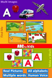 abc for kids lean alphabet with puzzles and games android apps