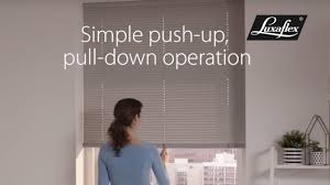 venetian blinds with literise operation from luxaflex youtube