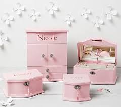 personalized girl jewelry box personalized gifts for pottery barn kids