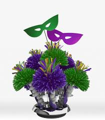 mardi gras centerpieces themed party centerpieces and wedding centerpieces by wanderfuls