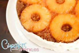 cupcakes with sprinkles pineapple upside down cake and secret