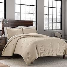 Can You Wash Comforters Garment Washed Solid Comforter Set Bed Bath U0026 Beyond