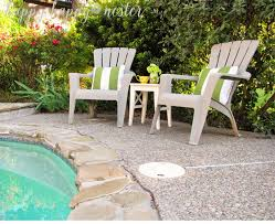 Paint For Outdoor Plastic Furniture by Annie Sloan Chalk Paint And Plastic Outdoor Chairs Happy Happy