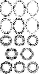 Decorative Frame Png Ornamental Frame Vector Clipart Clipart Collection Cartoon Of