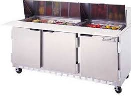 Refrigerated Prep Table by Beverage Air 72