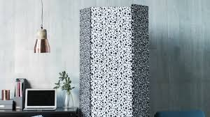 Diy Room Divider by Diy Project Fabric Covered Room Divider Homes Youtube