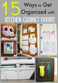 Practical  Awesome Over The Cabinet Door Organizers - Kitchen cabinet door organizer
