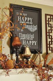 thanksgiving fireplace mantel decorations