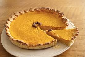 tarte à la citrouille pumpkin pie mademoiselle cuisine