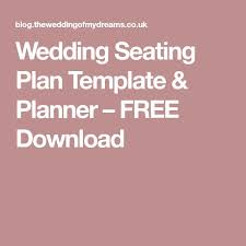 best 25 seating plan template ideas on pinterest wedding
