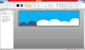cara membuat x banner dengan publisher create banner using ms word youtube