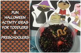 cute and fun halloween activity ideas for children with free